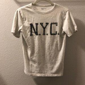 Gap kids N.Y.C short-sleeved t-shirt. Size M (8).